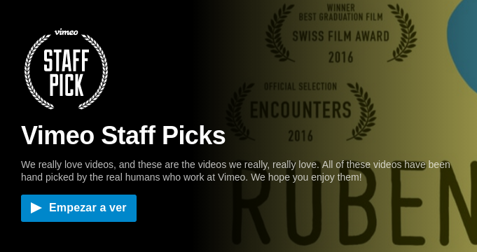 staff picks vimeo